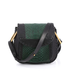 Chloe Hudson Handbag Python and Leather Small