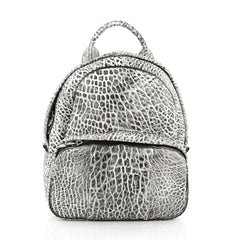 Alexander Wang Dumbo Backpack Pebbled Leather white