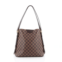Louis Vuitton Cabas Rivington Damier brown
