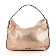 Jimmy Choo Zoe Hobo Leather with Snakeskin brown