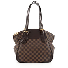 Louis Vuitton Verona Handbag Damier MM Brown