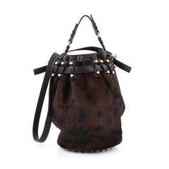 Alexander Wang Diego Bucket Bag Calf Hair Large