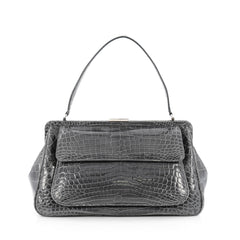 Tiffany & Co. Laurelton Handbag Crocodile