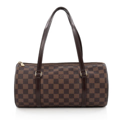 Louis Vuitton Papillon Handbag Damier 30 brown