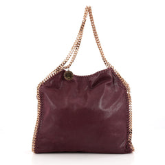 Stella McCartney Falabella Tote Shaggy Deer Small red