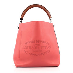 Louis Vuitton Voyage Bagatelle Hobo Leather pink