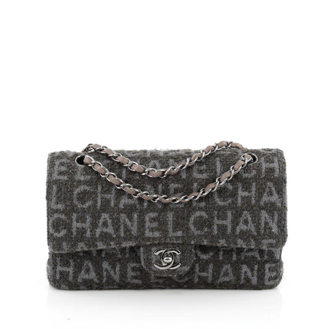 32cd42d84686 Buy Chanel Classic Double Flap Bag Printed Quilted Tweed 1672502 – Rebag