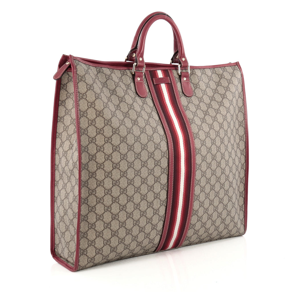 394513762 Buy Gucci Web Tote Coated Canvas XL Neutral 1675801 – Rebag