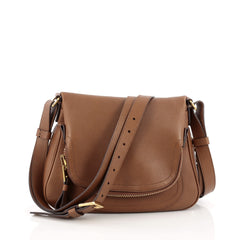 Tom Ford Jennifer Crossbody Bag Leather Medium Tom Ford Jennifer Crossbody Bag Leather Medium brown