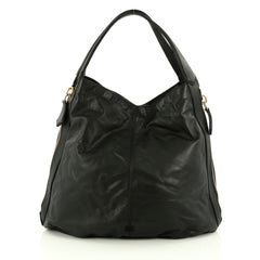 Givenchy Tinhan Tote Leather Black