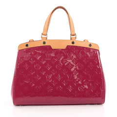 Louis Vuitton Brea Handbag Monogram Vernis MM