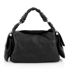 Bottega Veneta Cocker Hobo Leather