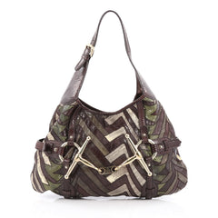 Gucci Limited Edition 85th Anniversary Hobo Python brown