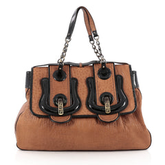 Fendi B. Bag Leather Large Brown