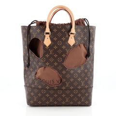 Louis Vuitton Rei Kawakubo Bag with Holes Monogram brown