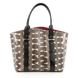 Alexander McQueen Legend Tote Python Small brown