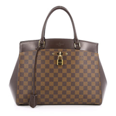 Louis Vuitton Rivoli Handbag Damier MM Brown