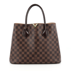 Louis Vuitton Kensington Handbag Damier Brown