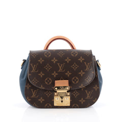 Louis Vuitton Eden Handbag Monogram Canvas PM Brown