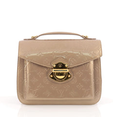 Louis Vuitton Mirada Handbag Monogram Vernis Neutral