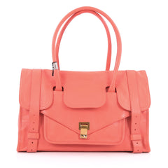 Proenza Schouler PS1 Keepall Handbag Leather Small pink
