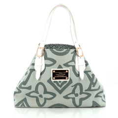 Louis Vuitton Tahitienne Cabas Canvas PM green