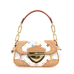Louis Vuitton Marilyn Handbag Monogram Multicolor White