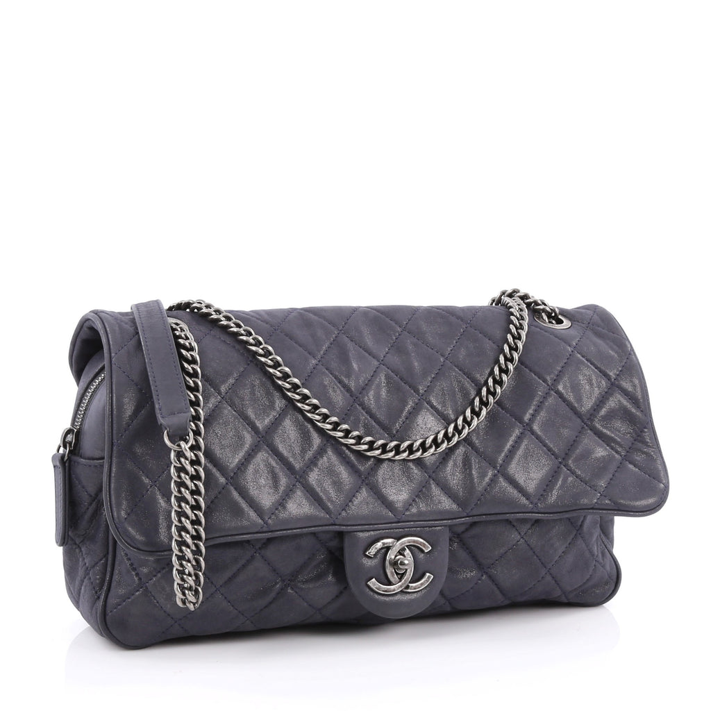 56430231bd485e Buy Chanel Shiva Flap Bag Quilted Iridescent Calfskin Large 1752801 ...