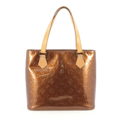 Louis Vuitton Houston Handbag Monogram Vernis Brown 1754702
