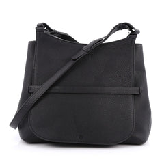 The Row Sideby Shoulder Bag Leather Black