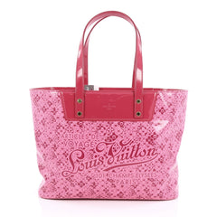 Louis Vuitton Voyage Tote Cosmic Blossom PM Pink
