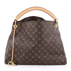 Louis Vuitton Artsy Handbag Monogram Canvas MM brown