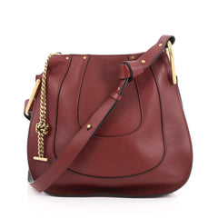 Chloe Hayley Hobo Leather Small Red