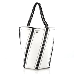 Proenza Schouler Hex Bucket Bag Leather Large White 1774702