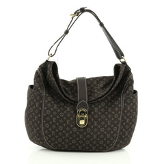 Louis Vuitton Romance Handbag Monogram Idylle Brown