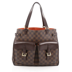 Louis Vuitton Uzes Handbag Damier Brown