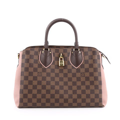 Louis Vuitton Normandy Handbag Damier Brown