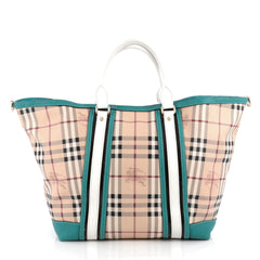 Burberry Jameson Tote Haymarket Coated Canvas and 1795104