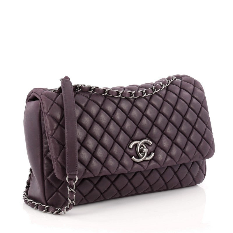c5c129a196efd3 Buy Chanel New Bubble Flap Bag Quilted Iridescent Calfskin 1797604 ...