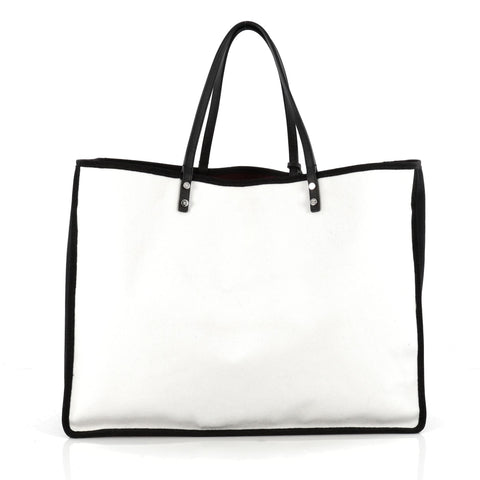 547564aad408a8 Buy Chanel Ladies First Whistle Tote Canvas Large White 1798202 – Rebag