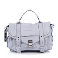 Proenza Schouler PS1 Satchel Leather Medium blue