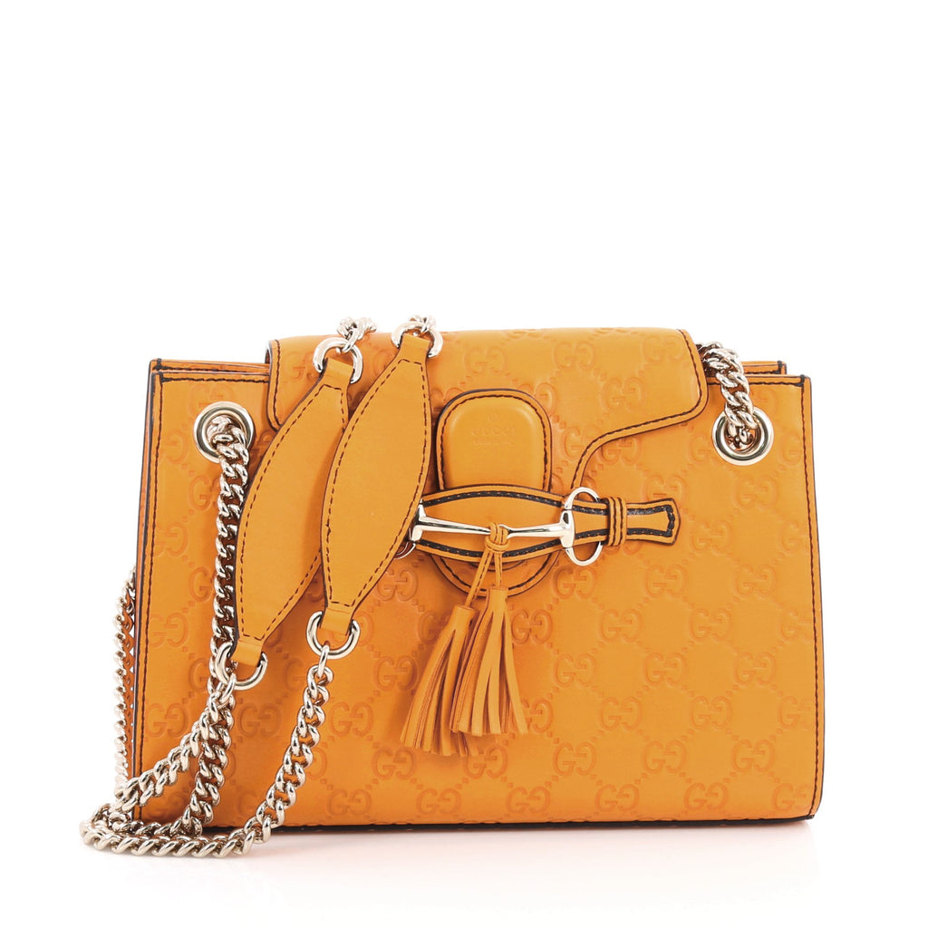 c9ac72b0a5c7 Buy Gucci Emily Chain Flap Shoulder Bag Guccissima Leather 1810901 ...