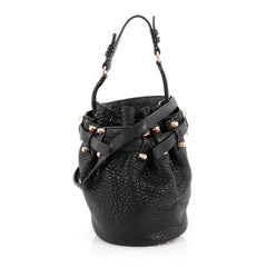 Alexander Wang Diego Bucket Bag Leather Small Black 1815601