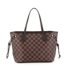 Louis Vuitton Neverfull NM Tote Damier PM Brown 1821915