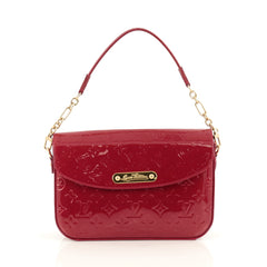 Louis Vuitton Rodeo Drive Handbag Monogram Vernis Red 1822201