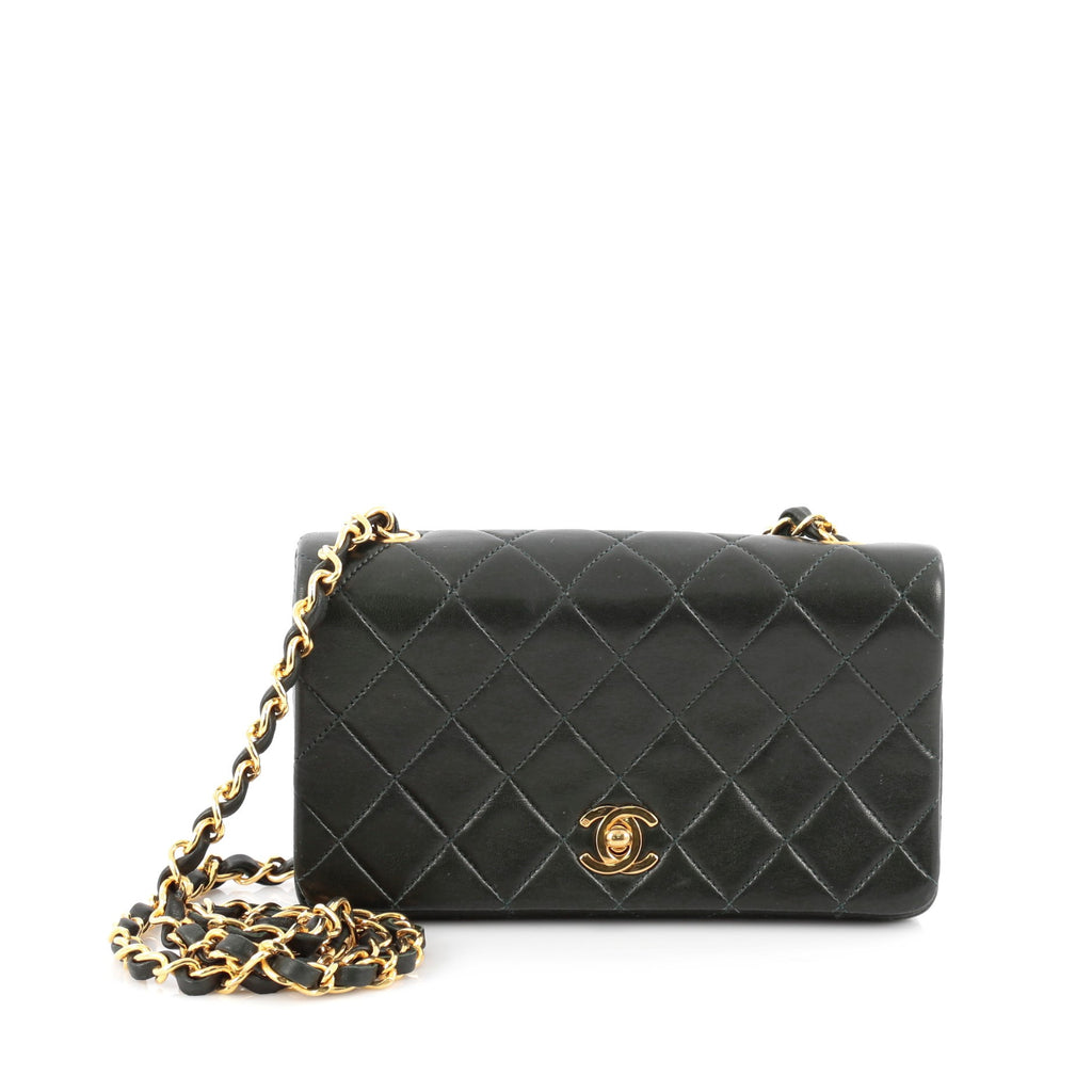 3cfe75bd15e30b Buy Chanel Vintage 3 Way Full Flap Bag Quilted Lambskin Mini 1824201 ...