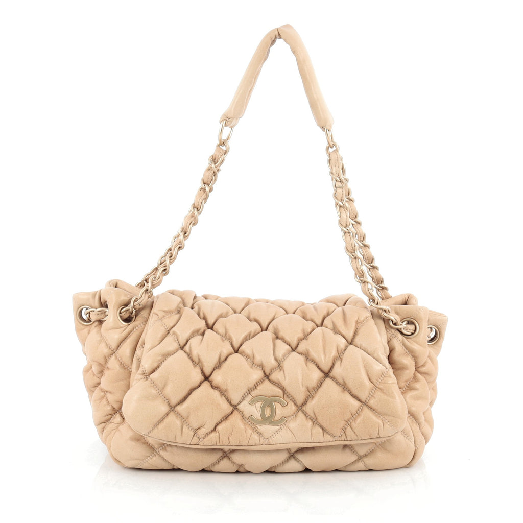 72cccf442b7f Buy Chanel Bubble Accordion Flap Bag Quilted Lambskin Medium 1826901 ...
