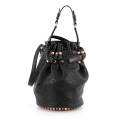 Alexander Wang Diego Bucket Bag Leather Small Black 1828801
