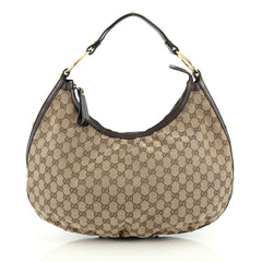 Gucci Twins Hobo GG Canvas Large Brown 1832901