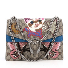 Gucci Dionysus Handbag Embroidered GG Coated Canvas 1835002
